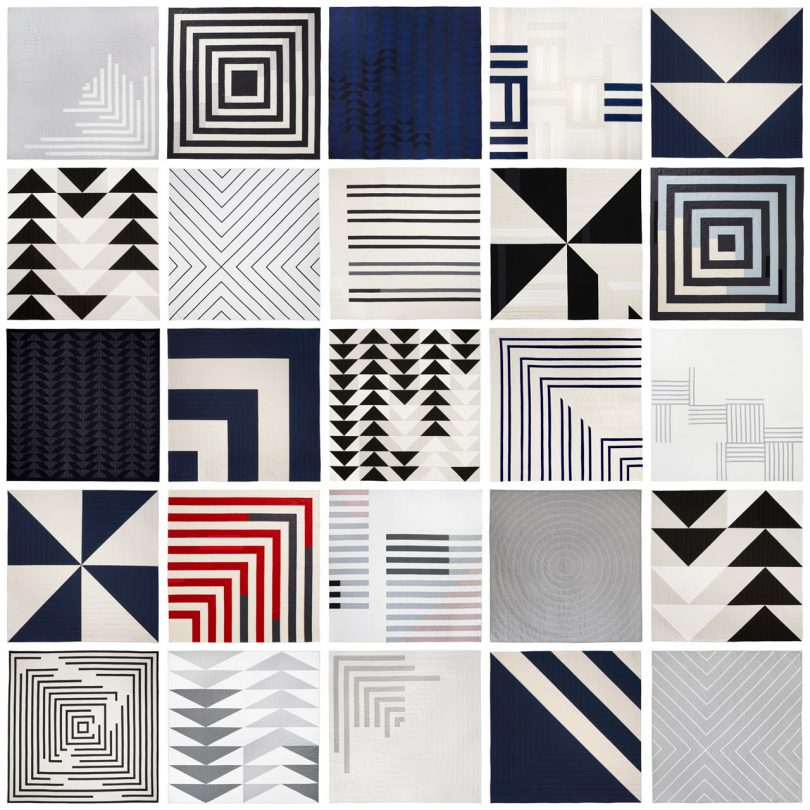 Contemporary Graphic Quilts by Lindsay Stead