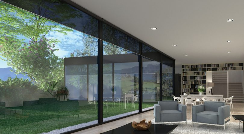 Sophisticated Simplicity: Lutron Palladiom Shading System