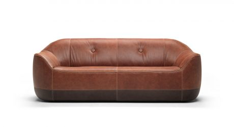 The Cozy Furrow Sofa by Marcel Wanders for Natuzzi Italia