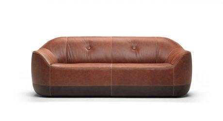 The Cozy Furrow Sofa by Marcel Wanders for Natuzzi Italia