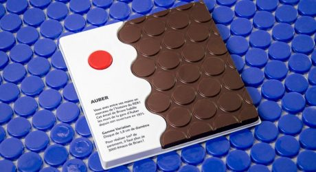 Metro, Boulot, (Chocolat) Dodo: Paris Train Station Tile Inspires Chocolate Bars