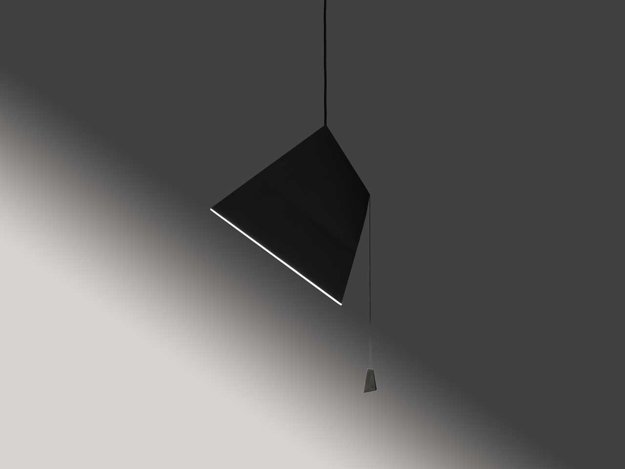 Noguchi-Inspired Poise Lamps by Sebastian Bergne
