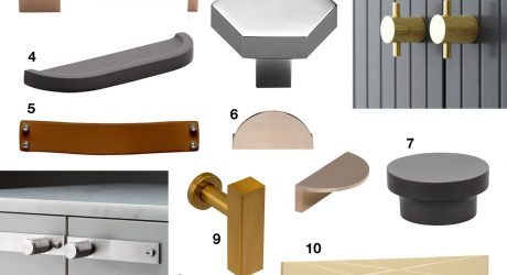 10 Modern Drawer Pulls and Cabinet Door Hardware