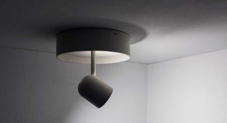 The Rotating Concierge Lamp by kaschkasch for Vertigo Bird
