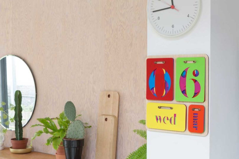 Colorful Perpetual Wall Calendar By Yoni Alter Design Milk