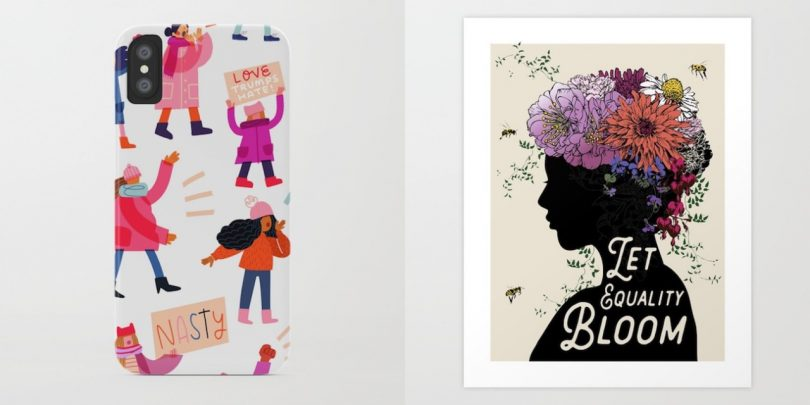 Celebrating International Women's Day with Society6