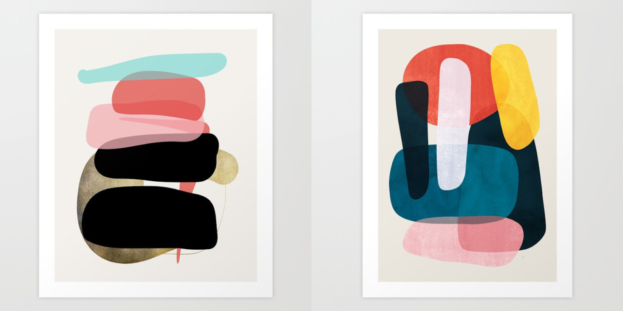 Art Prints from Society6 That Help Shape up a Room