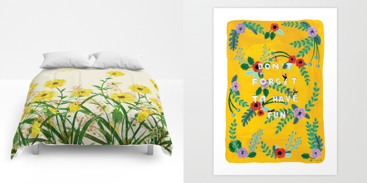 Welcoming a New Season with Society6