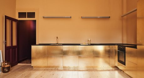 The Golden Brass Stine Goya Kitchen by Reform