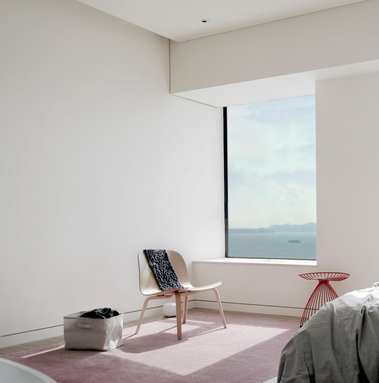 Unfolding Canvas Minimalist Apartment by OFGA