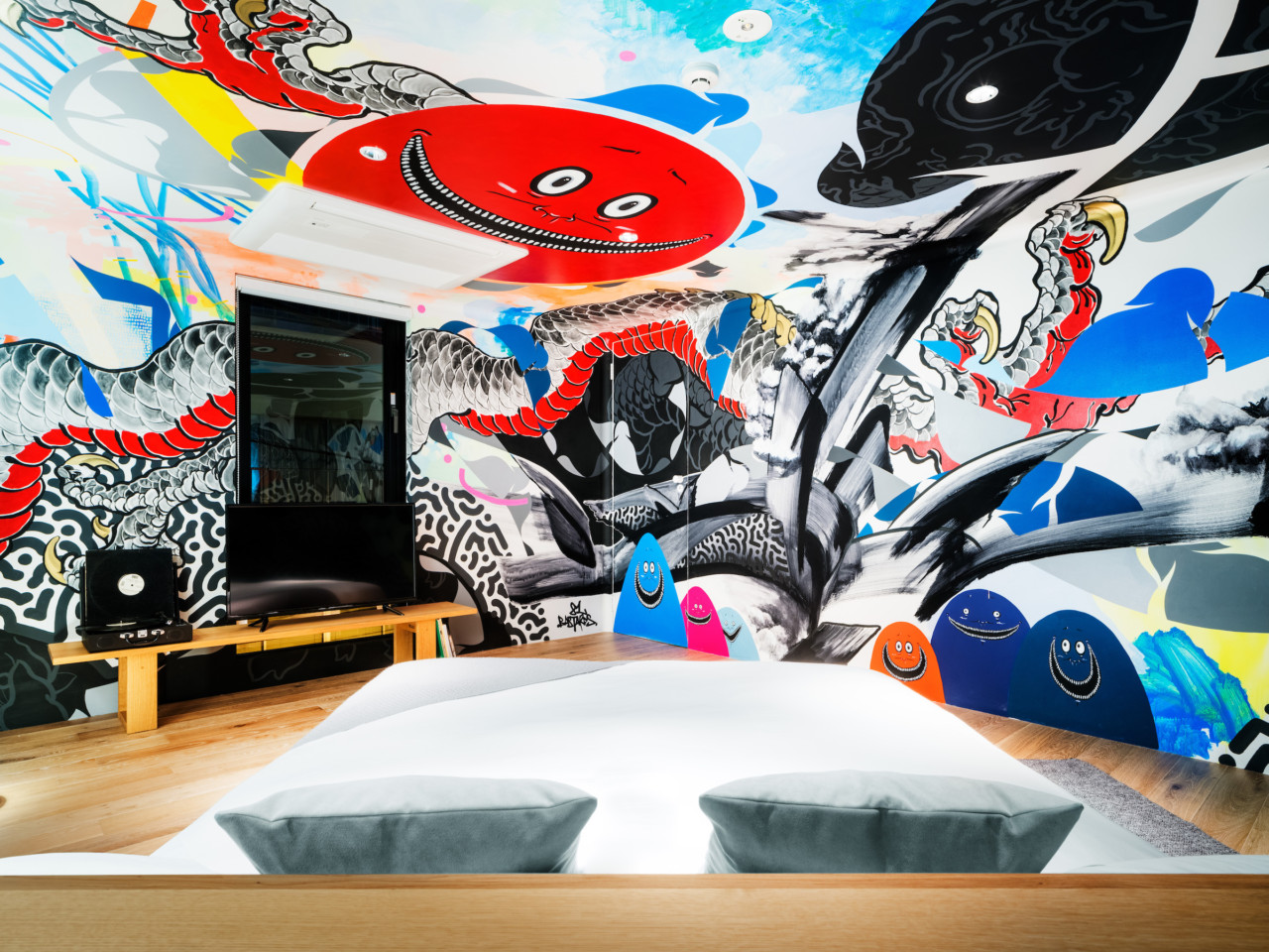 Art-Centric BnA STUDIO Akihabara Hotel Features Five Livable Art Rooms