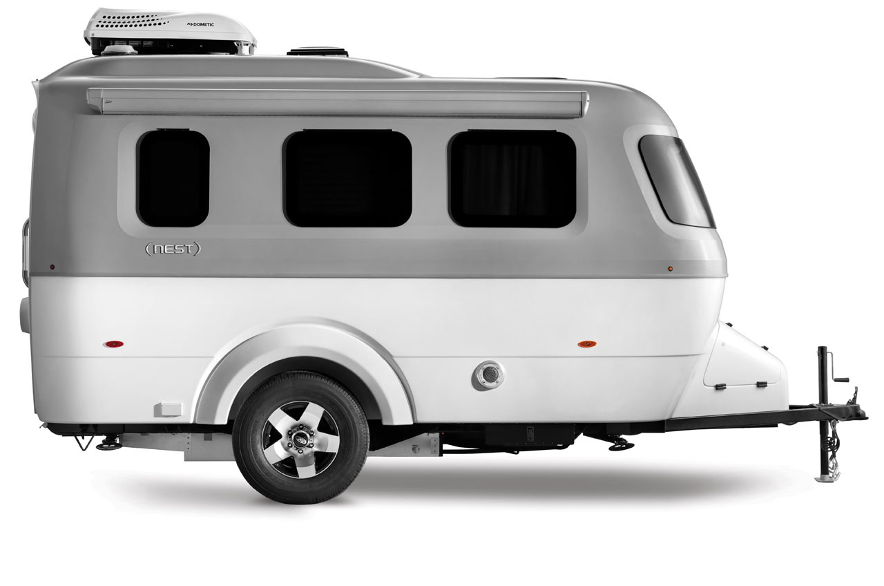 Nest by Airstream: A Modern Fiberglass Travel Trailer
