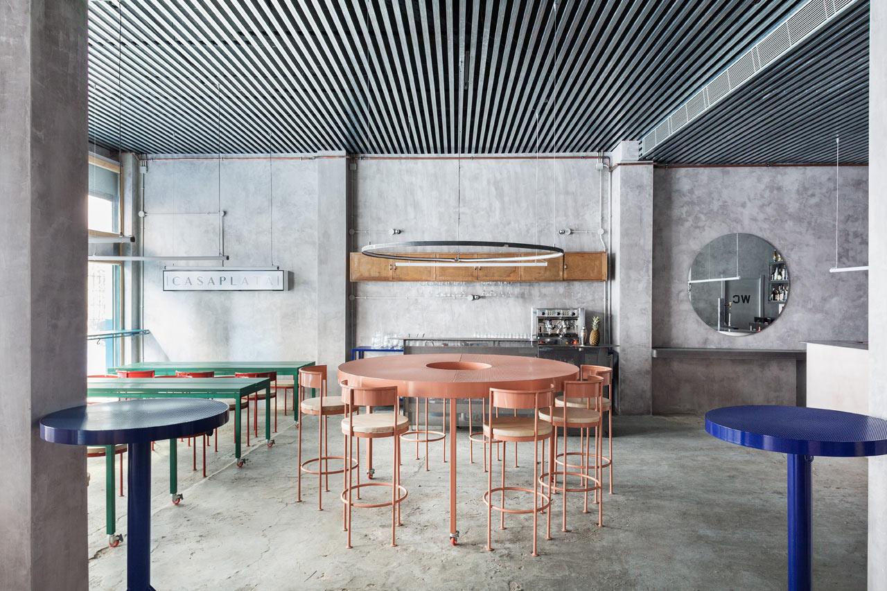 CASAPLATA Restaurant/Bar in Seville by Lucas y Hernández-Gil
