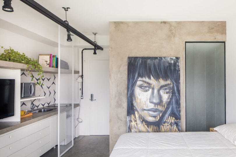A Compact 24m² Apartment in Brazil by Casa 100 Arquitetura