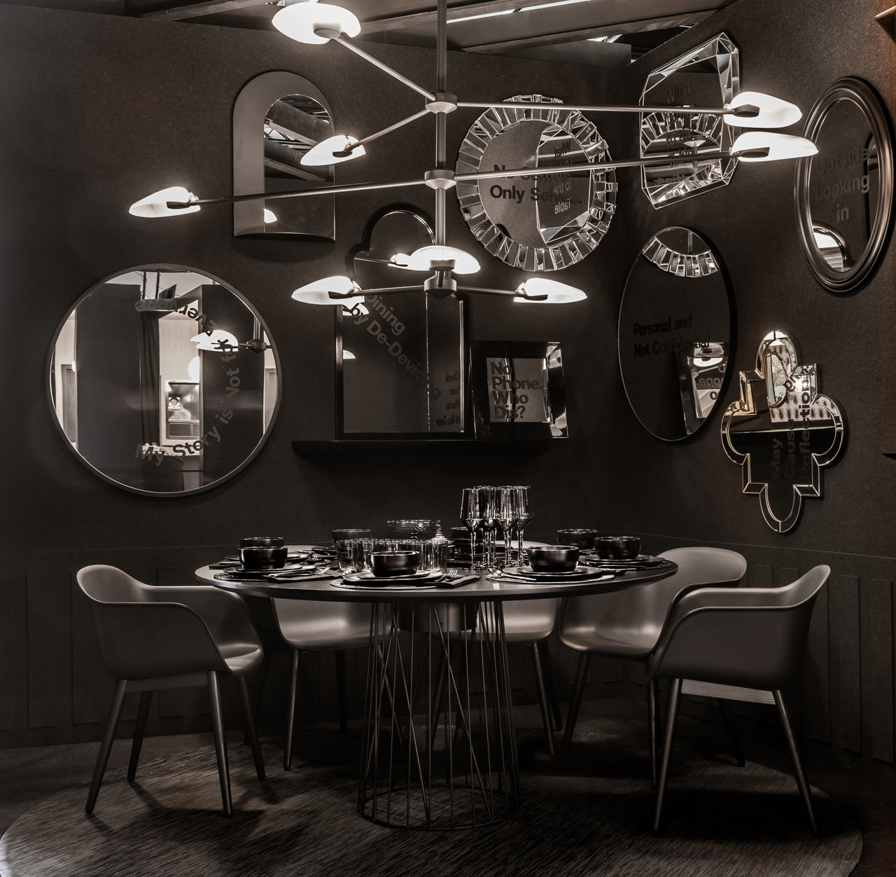 A Look Behind 3 Dining By Design 2018 Vignettes Benefitting DIFFA