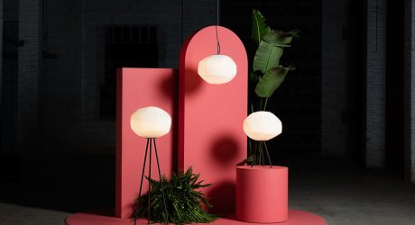 Luca Nichetto Designs Gèmo Lighting Collection for Parachilna