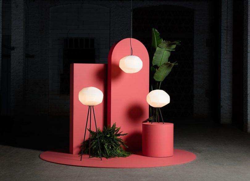 Luca Nichetto Designs Gèmo Lighting Collection for Parachilna