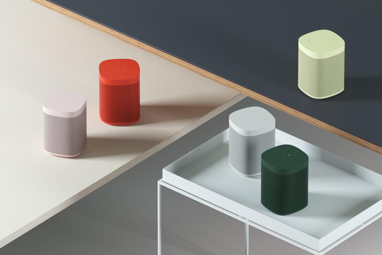 HAY Sonos One Revealed at 2018 Milan Design Week