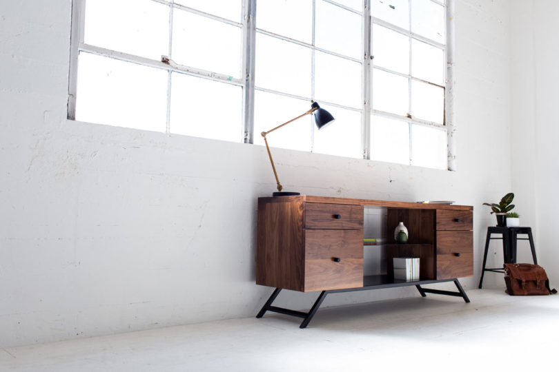 latest office furniture designs. The Collection Includes Four Pieces Of Handmade Office Furniture Made From Solid Walnut And Powder Coated Steel That Results In A Clean, Minimalist Feel. Latest Designs