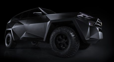 "The $3.8 Million Karlmann King ""Ground Stealth Fighter"" SUV"