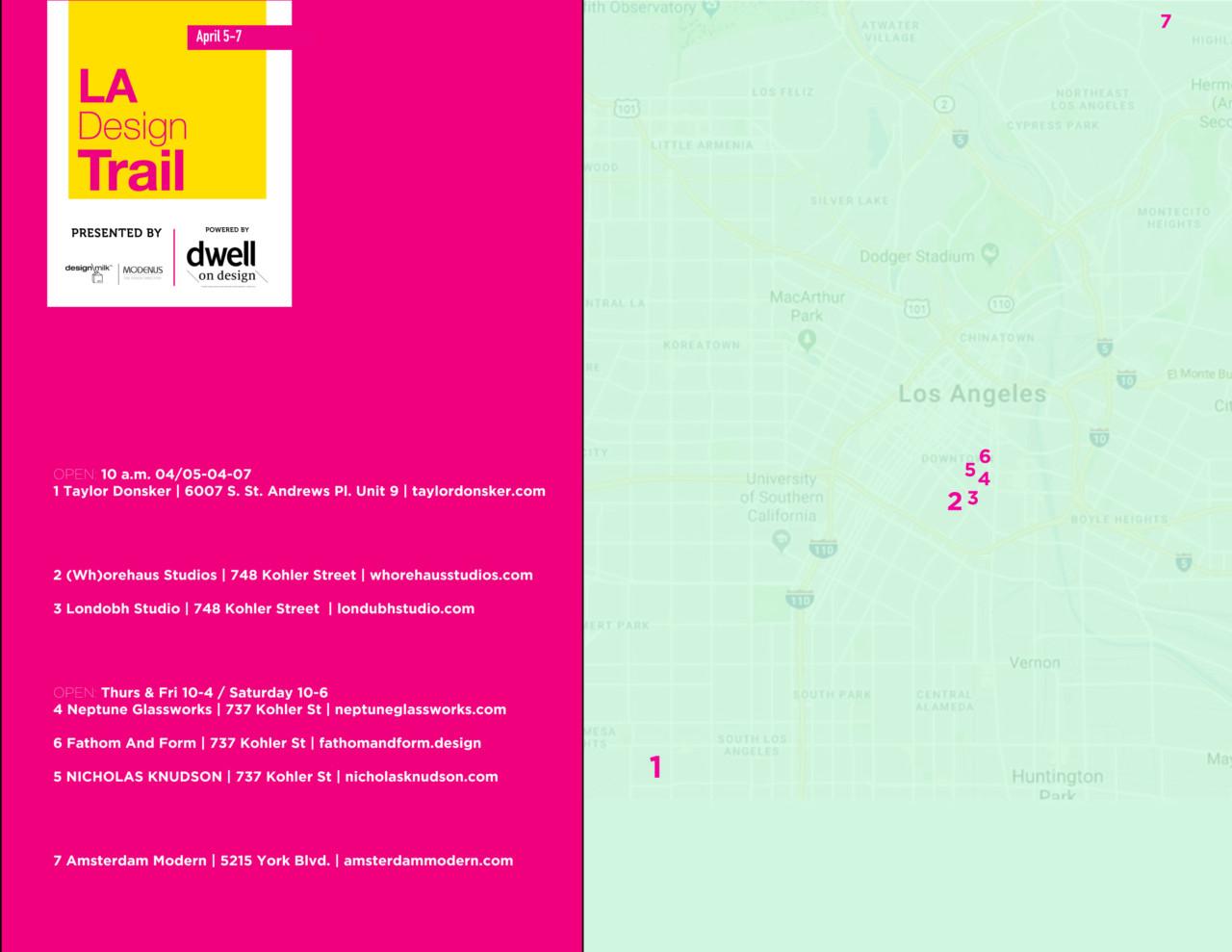 Introducing the 2018 LA Design Trail - Design Milk