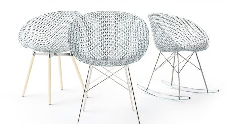 Tokujin Yoshioka Reveals the Transparent MATRIX Chair for Kartell