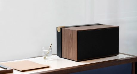 Native Union x La Boite PR/01 Speaker Conceals Cords and History