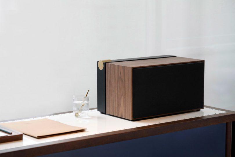 Native Union x La Boite PR/01 Speaker Conceals Cords and History