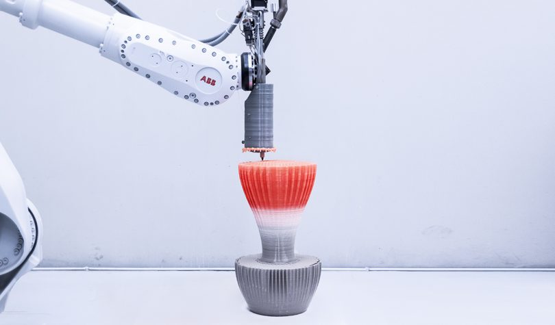 Large-Scale Robotic 3D Printed Furniture by Nagami