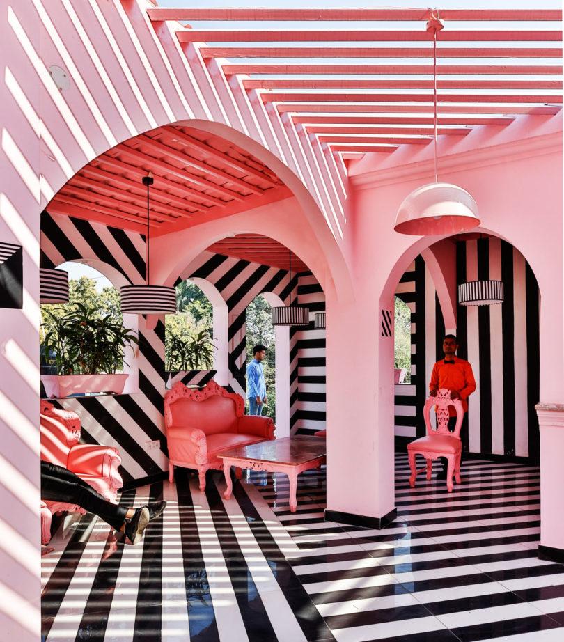 The Pink Zebra: An Eye-Popping Restaurant/Bar Inspired by the Work ...