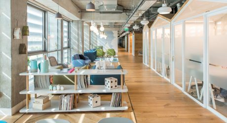 Modern office design and creative workspaces for Shared office space design