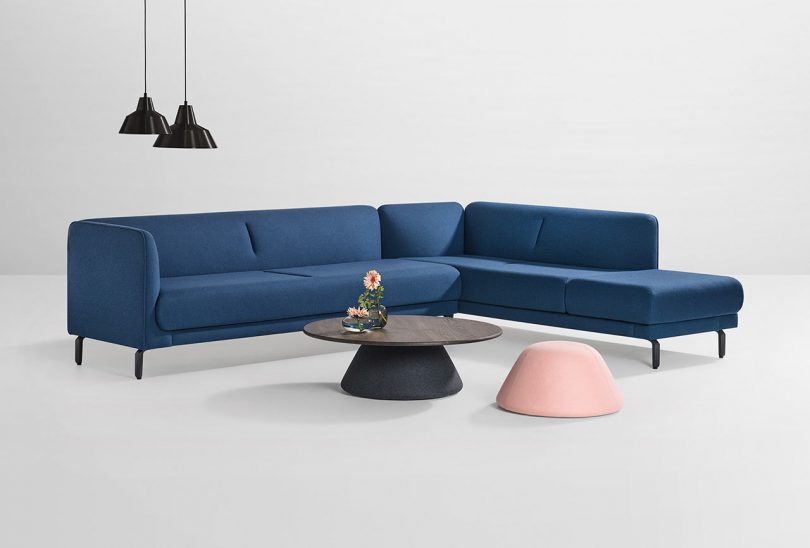 Artifort Launches Figura Sofa and Balance Tables with Khodi Feiz