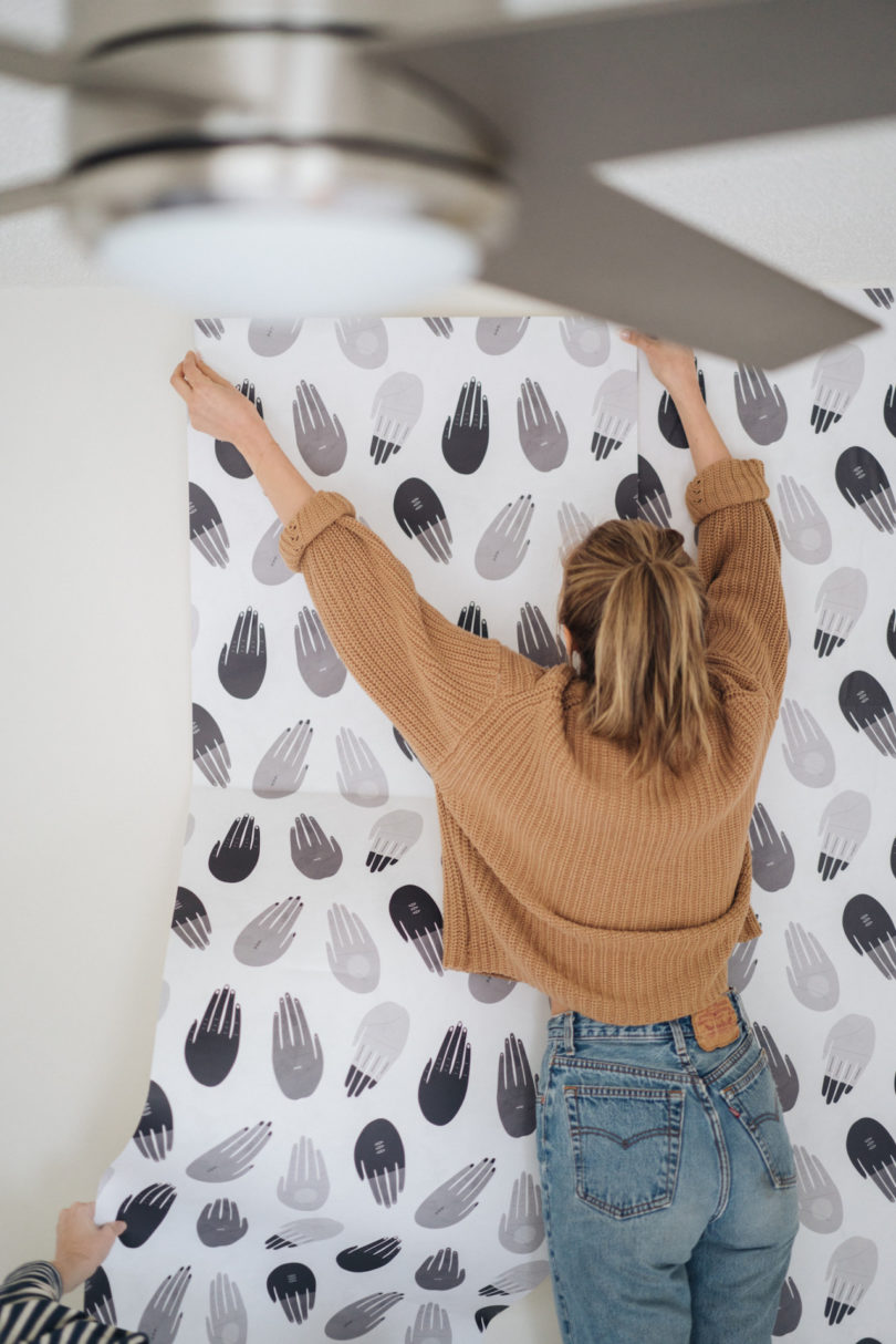 Ways To Use Wallpaper And Now You Can Shop Original Prints Patterns From Society6 Who Just Launched This Week These Are Non Permanent
