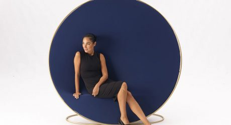 Emanuele Magini's Anish Hides a Chair Within Its Circular Frame