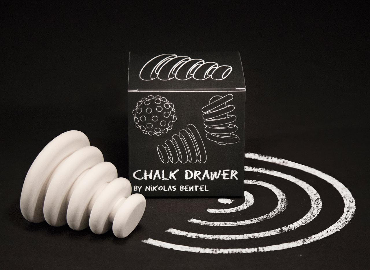 Nikolas Bentel Reimagines How We Draw with Chalk Drawers