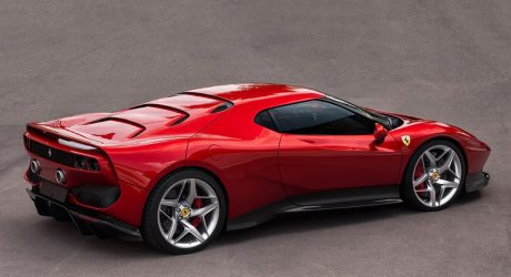 One of a Kind Ferrari SP38 Unveiled at 2018 Concorso d'Eleganza Villa d'Este
