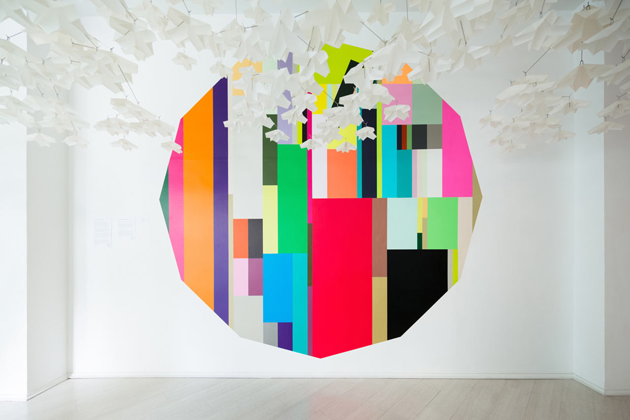 Transform Your Walls, Floors, and Furniture with Tape by HARU stuck-on design