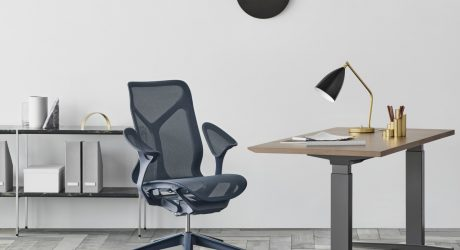 The Herman Miller Cosm Tilts Itself Into the Best Position Possible