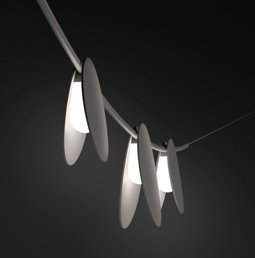 June Outdoor Lighting Collection by Emiliana Design Studio for Vibia