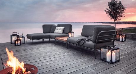 LEVEL Outdoor Lounge by Henrik Pedersen for HOUE