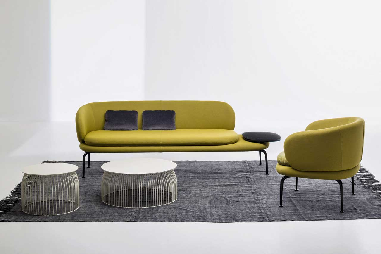LaCividina Launches New Upholstered Seating at Milan Design Week