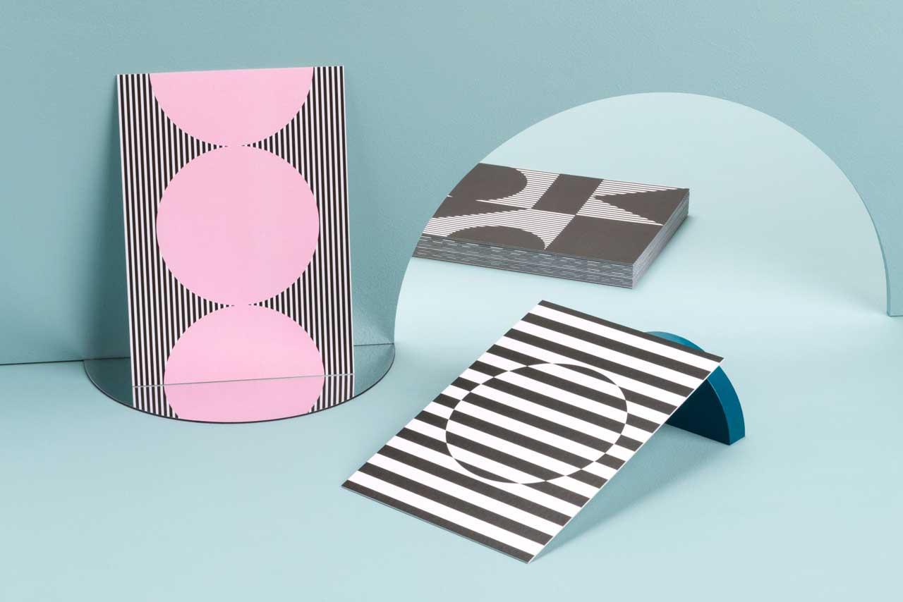 Pattern Reflections: A MOO x PATTERNITY Postcard Collaboration