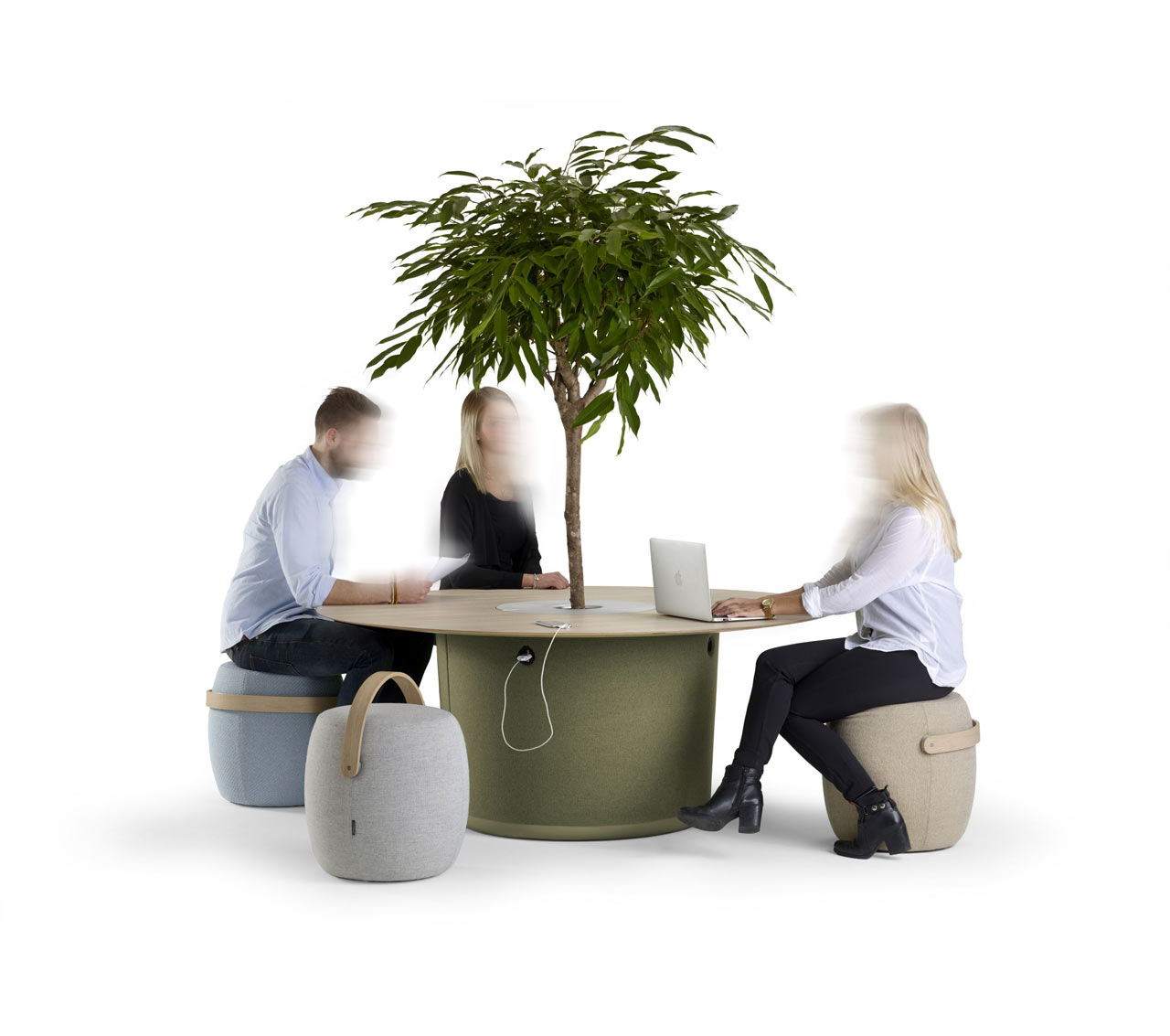 Mattias Stenberg's On Point & Carry On Make Perfect Informal Office Seating
