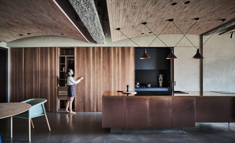 A Taiwanese Apartment That Merges Modern and Natural Elements by KC design studio