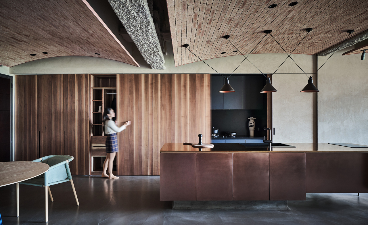 Architecture Interior Design Main · A Taiwanese Apartment That Merges  Modern And Natural Elements By KC Design Studio ...