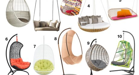 10 Swinging Chairs for Maximum Outdoor Relaxation
