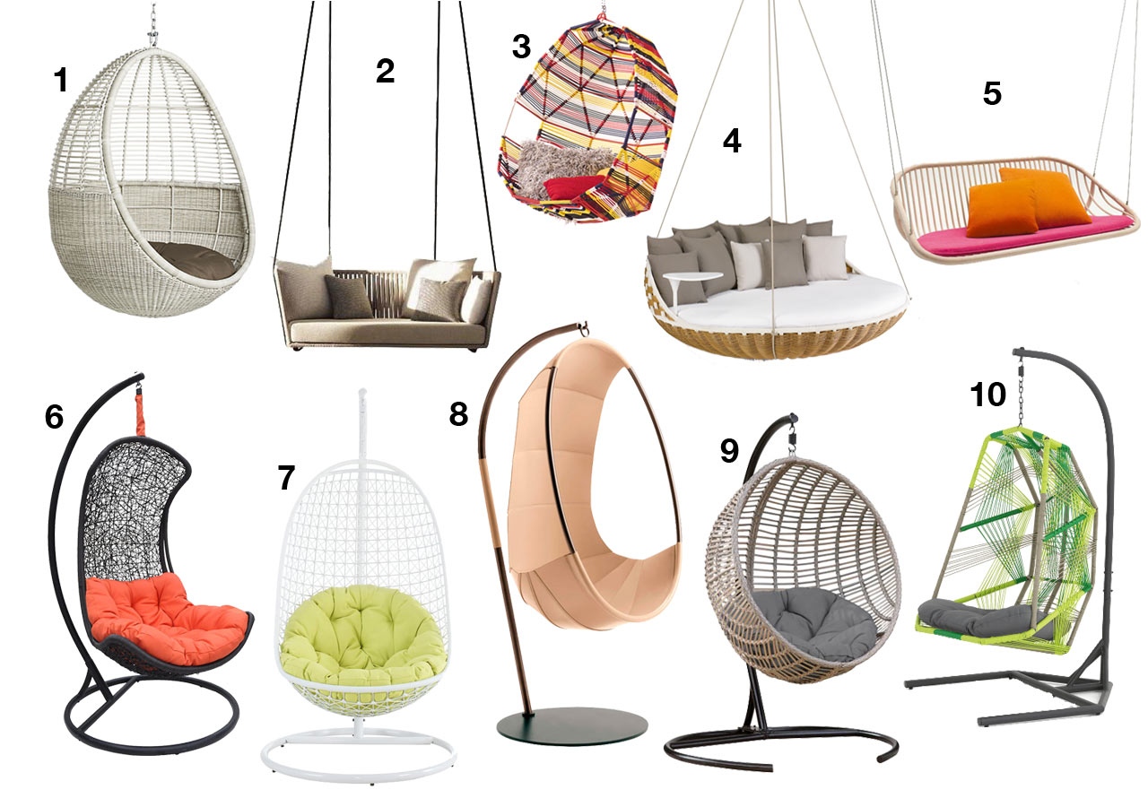 Superbe 10 Swinging Chairs For Maximum Outdoor Relaxation