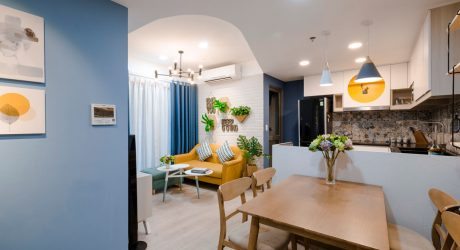 interior design toki home transforms an apartment in vietnam with color - Modern Home Designs Interior