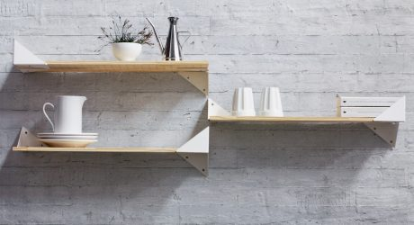 The Wing Shelving System Offers Endless Possibilities