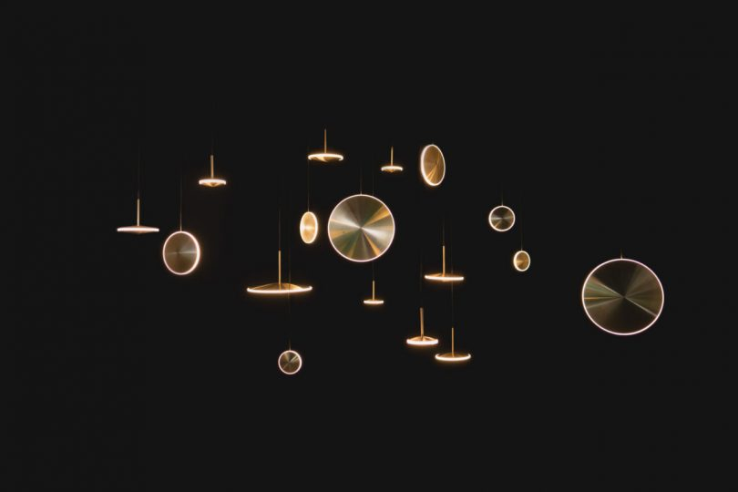 Chrona: A Celestial LED Pendant Series by Graypants